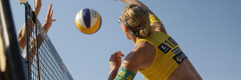 Beachvolleyball: smart beach tour Koeln 2013