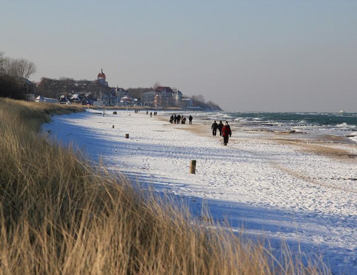 Winterwandern an der Ostsee