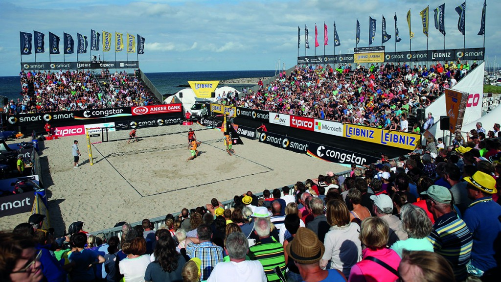 Beachvolleyball: smart beach super cup Kuehlungsborn 2014,