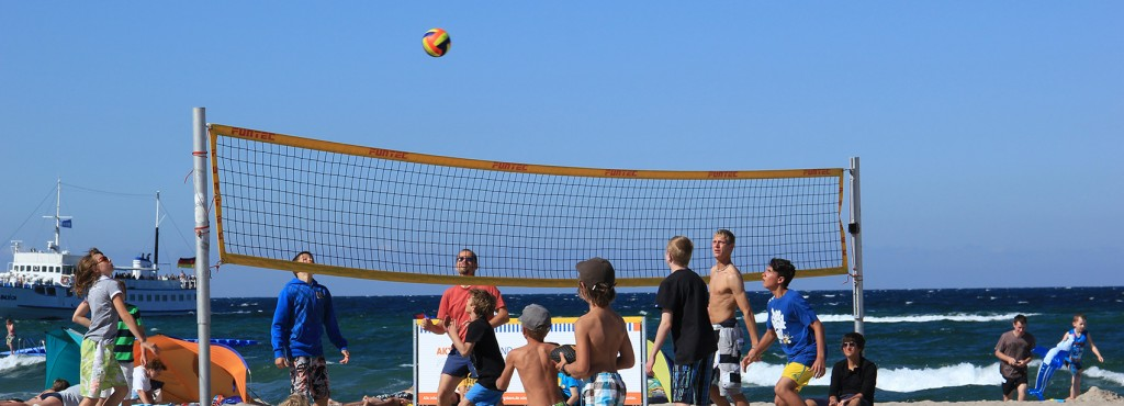 Sportstrand Volleyball Ost Kinder - web