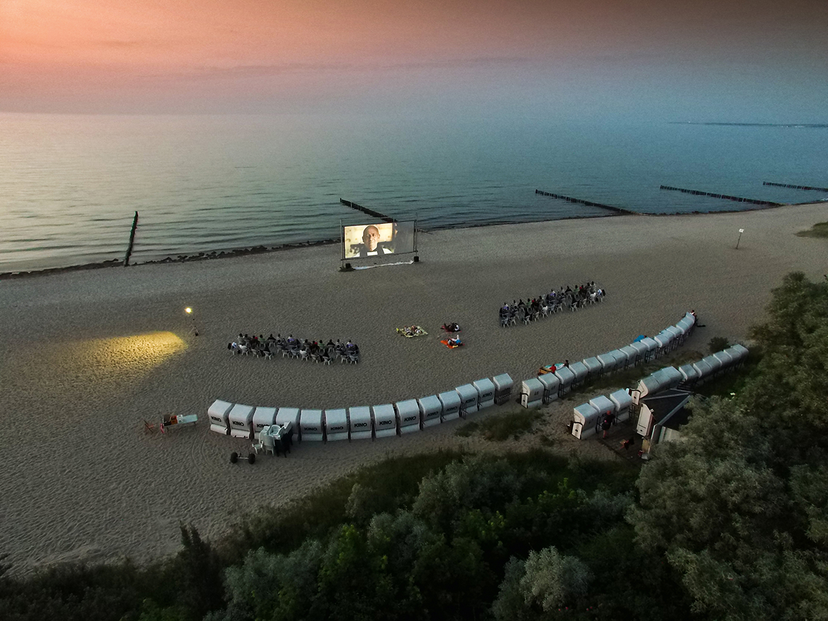 Open Air- Kino am Strand